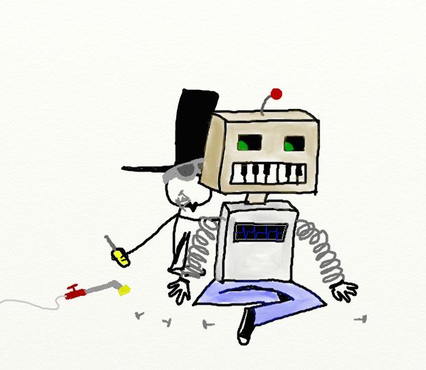 D30DD 05 Robots obsoletos